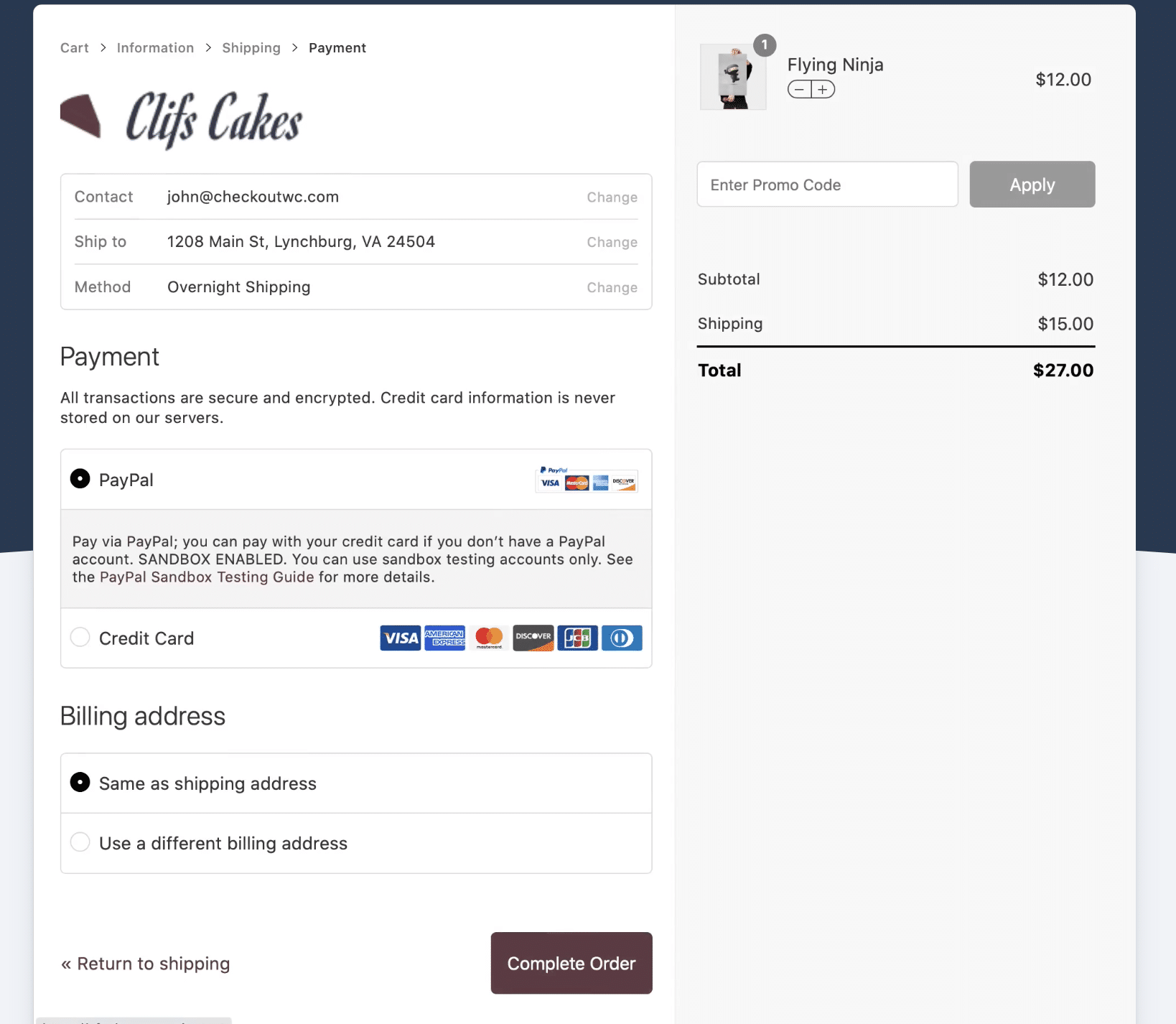 woocommerce checkout like shopify: checkoutwc review